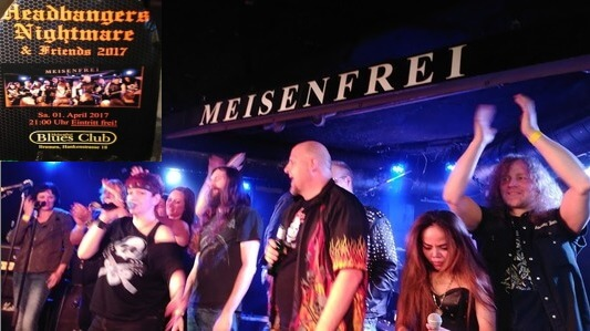 HEADBANGERS NIGHTMARE & Friends – Live, Bremen Meisenfrei 1.4.2017