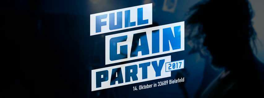 Full Gain Live Bielefeld 14.10.2017 - OPRATION CHERRYTREE, STORAGE 5, HELL'S SOLUTION, MEN OF MAYHEM